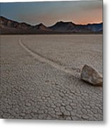 The Racetrack At Death Valley National Park Metal Print