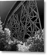 The Rail Metal Print