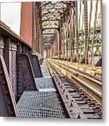 The Rails I Metal Print