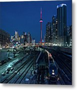 The Railway Lands Toronto Metal Print