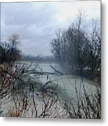 The Rains Came Metal Print