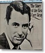 The Real Cary Grant Metal Print