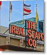 The Real Seafood Company 4201 Metal Print