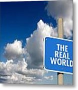 The Real World Metal Print