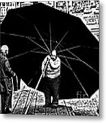 The Really Big Umbrella Metal Print