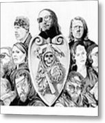The Reaper Crew Metal Print by Keith Larocque