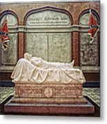 The Recumbent Robert E. Lee Metal Print