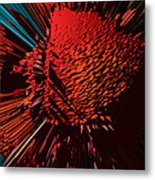 The Red Blob Of Courage Metal Print