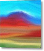 The Red Earth Metal Print