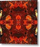 The Red Light Metal Print