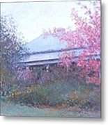 The Red Maple Tree Metal Print