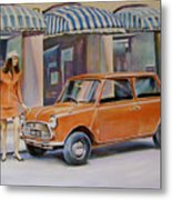 The Red Mini Metal Print