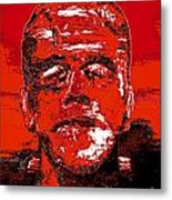 The Red Monster Metal Print