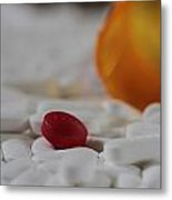 The Red Pill Metal Print