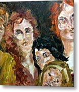 The Redheaded Step Child Metal Print by Michelle Dommer
