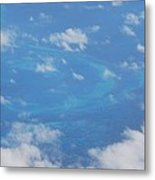 The Reefs From The Air, Bermuda # 6 Metal Print