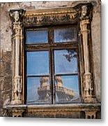 The Reflecting Castle Metal Print