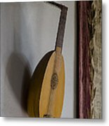 The Renaissance Lute Metal Print