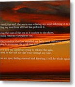 The Renewal Poem Metal Print