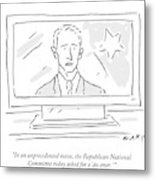 The Republican National Committee Today Asked Metal Print