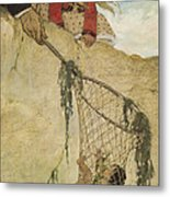 The Rescue Circa 1916 Metal Print by Aged Pixel