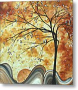 The Resting Place By Madart Metal Print