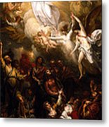The Resurrection Metal Print by Munir Alawi
