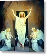 The Resurrection Of Christ By Carl Heinrich Bloch  Metal Print