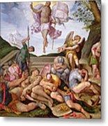 The Resurrection Of Christ, Florentine School, 1560 Metal Print