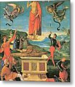 The Resurrrection Of Christ Metal Print by Raphael