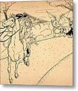 The Ride Of Paul Revere Metal Print