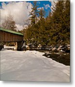 The Right Path Metal Print