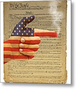 The Right To Bear Arms-4 Metal Print