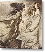 The Ring Upon Thy Hand - ..ah Metal Print