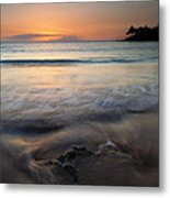 The Rise And Fall Metal Print by Mike  Dawson
