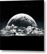 The Rise Of A Planet II Metal Print