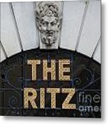The Ritz London Metal Print