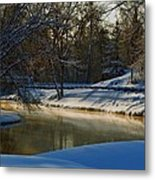 The River Bend Metal Print
