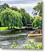 The River Cruise Metal Print