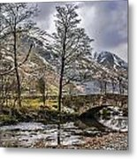 The River From Brothers Water Metal Print