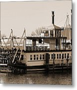 The River Lady Toms River New Jersey Metal Print