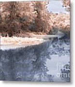 The River - Near Infrared Metal Print