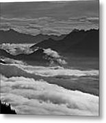 The River Of Clouds Metal Print