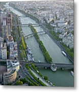The River Seine Metal Print
