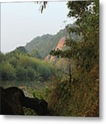 The River Severn Through Bridgnorth Metal Print