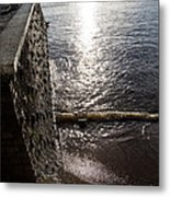 The River's Edge Metal Print