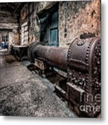 The Riveted Boiler Metal Print