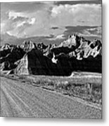 The Road From Interior Metal Print