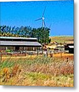 The Road To Collinsville 7 Metal Print