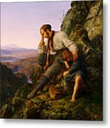 The Robber And His Child Metal Print